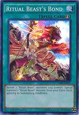Ritual Beast's Bond Super Rare Holo Yugioh Card THSF-EN031