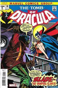 Tomb Of Dracula Comic 10 Facsimile 2020 Marv Wolfman Gene Colan Jack Able Marvel