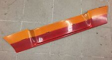 VW GOLF MK2 REAR BOOTLID TAILGATE ORANGE RED HELLA HECKBLENDE NUMBER PLATE TRIM