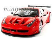 HOT WHEELS BCJ77 FERRARI 458 ITALIA GT2 LAUNCH VERSION 1/18 ROSSO CORSA RED