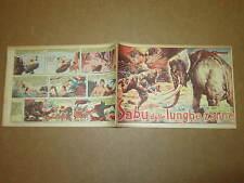 GLI ALBI DELL'INTREPIDO N°289 DEL 31-7-1951 SABU DALLE LUNGHE ZANNE