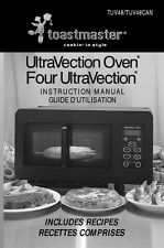 Toastmaster Tuv48 Tuv48Can Ultravection Oven Owners Manual