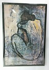 Pablo Picasso Blue Nude Framed Poster Print 37 x 25 Inches