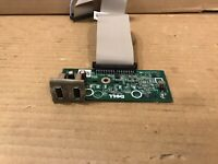 Dell PowerEdge T110 II Front I/O Panel Assembly 0K617R with 0R8DY4 Cable
