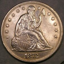 1872 LIBERTY SEATED SILVER DOLLAR APPEALIN VERY RARE MPD VP-001/B-5491 NGC POP@1
