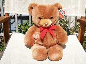 """VINTAGE GUND- BROWN KARITAS TENDER TEDDY BEAR-16""""-#2125-1983-VERY NICE-ALL TAGS"""