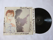 David Bowie ~ des Monstres Effrayants ~ 1984 UK noir étiquettes ROCK Vinyle LP ~ Great Audio