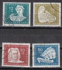 German Democratic Republic (DDR) - Scott B17-20 Used (Catalog Value $38.00)