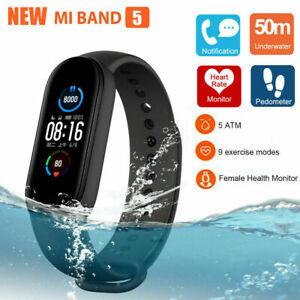 Xiaomi Mi Band 5 AMOLED Smart Fitness Watch Heart Rate 5 ATM Waterproof GLOBAL