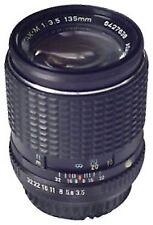 Telephoto Lens for Pentax SLR Camera