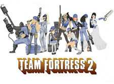 "Team Fortress 2 Hot Game Wall Poster 32""x24""  T017"