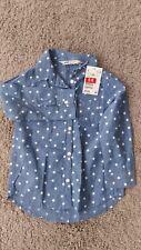Mädchen Langarmhemd Gr.98 von H&M, neu mit Etikett