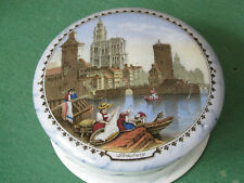 More details for strasbourg pot lid and base. good condition with a colourful picture.