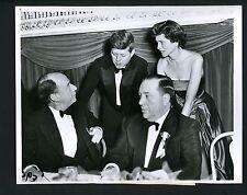 John Kennedy Adlai Stevenson Richard Daley 1956 Press Wire Photo with RMY LOA