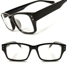 Stylish Fashion Stylish Smart Geeky Rectangle Mens Womens Clear Lens Eye Glasses
