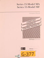 GE Fanuc 15, MA and MF, 247 page, Description and Programming Manual 1988