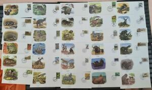 Worldwide Fauna 1960/1985 ☀ 30 pcs FDC