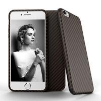 Coque Rigide de Protection pour iPhone 6 Plus 6s Plus Fibre de Carbone / BR