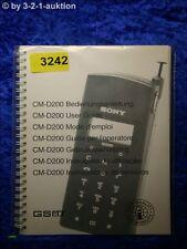 Sony Bedienungsanleitung CM D200 GSM (#3242)