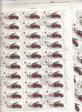 CCCP 1985 URSS 32 feuilles 30TP 3k Voitures de pompiers modele 1924
