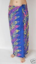 NEW BLUE SARONG PAREO BEACH POOL ONE SIZE WRAP / sa272