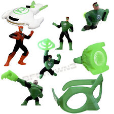 McDonald's 2012 GREEN LANTERN: TAS 8-pc Happy Meal toy Complete SET
