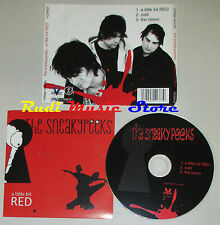 CD Singolo THE SNEAKYPEEKS A little bit red VOLTAGE RECORDS VCD402 mc dvd (S4)