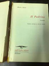 MARIO PUZO IL PADRINO EDITORE DELL'OGLIO 1970