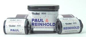 Rollei Paul & Reingold Black & White VARIABLE ASA Film 35mm 36 Exp - LTD EDITION