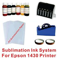 Sublimation Inkjet System KIT  For Epson Printer Artisan 1430 Printer