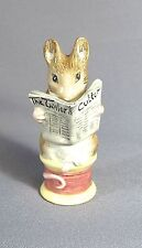 """Royal Albert England Collection Tailor of Gloucester 1989 3 6/8""""H (#816)"""
