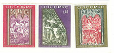 ANDORRE FRANCE YVERT N° 206 à 208 ** RELIGION CATHOLIQUE