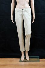 GAS Lady JEANS STRAIGHT FIT Low waisted Trousers Pants SLim Stretch W27 Uk10