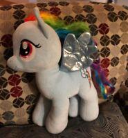 "Build A Bear Workshop My Little Pony Rainbow Dash Horse Stuffed Plush 15"" LARGE"