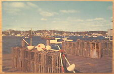 Boothbay Harbour, Maine, USA postcard