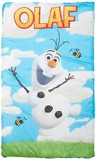 Disney Frozen Olaf Quilted Slumber Bag with Bonus Backpack w/Straps - FREE SHIP