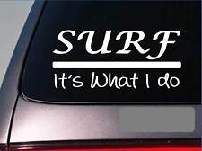 Surf sticker decal *E326* wax swim dive snorkel wave reef tropical beach board