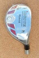 "NEW I-DRIVE Hybrid Iron, Pick #1-LW, Hosel .370"" R/H or L/H,  CLUB HEAD ONLY"