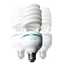 walimex Spiral-Tageslichtlampe 85W, 3er Set, Sockel: E27, 5400 K, CRI 85