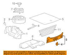 Buick GM OEM 10-16 LaCrosse Interior-Rear-Rear Panel Trim 26209270