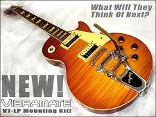 Bigsby B7 & Vibramate V7 EZ Bolt-On 4 Your Les Paul Guitar! No Mods! All U Need!