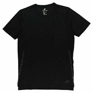 Nike Men's Sportswear Bonded Droptail T-Shirt Black 847507-010