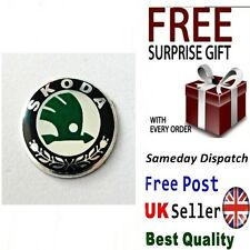 Badge Logo Emblem Sticker for Skoda Key Fob Case Fabia Octavia Superb Yeti VRS