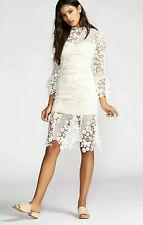 NEW Free People La Spezia White Lace Midi Dress Size Small