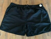 Mens size 3XL Black Swim shorts boardies elastic waist board shorts RIVERS NEW