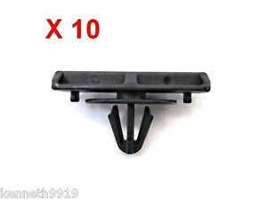 Jeep Liberty Ground Effects Moulding Replacement Black Plastic Clips  T30