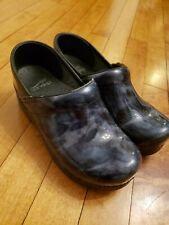 Dansko Clogs Work Professional Size 35 Boho Retro Comfort Casual Patent Leather