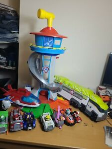 Paw Patrol My Size Lookout Tower Pups Vehicles Jungle Transporter