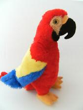 Plüschtier Stofftier Papagei Ara Stofftiere 30cm rot Papageien Aras Kuscheltier