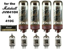 Genalex Tube Set for Marshall JVM410H + 410C  includes five 12AX7 and four EL34